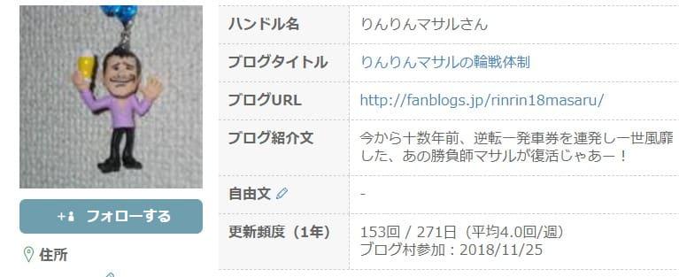 競輪 予想 youtube りんりんマサル ブログの人気