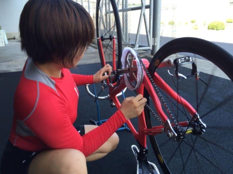 競輪 自転車 メカニック