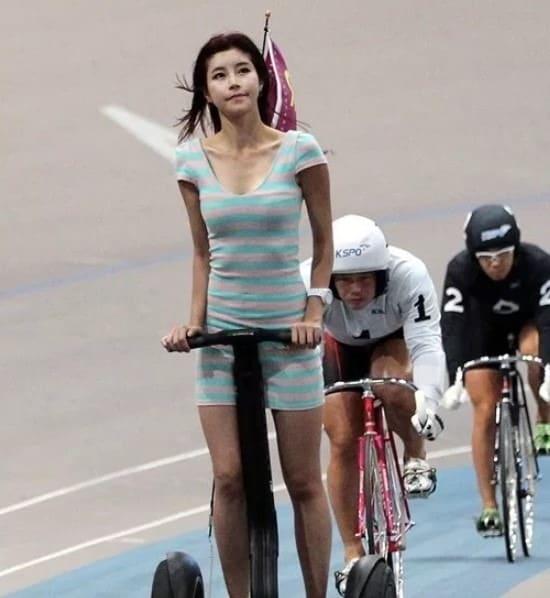 韓国 競輪 レベル キャンギャル
