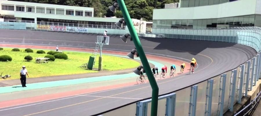 防府競輪場は日本1小さい競輪場...