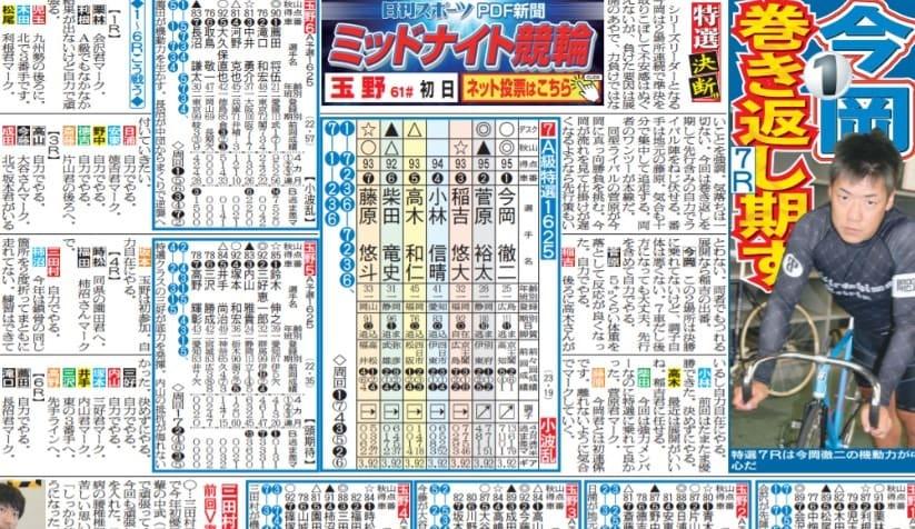 競輪 ニュース おすすめ 日刊スポーツ