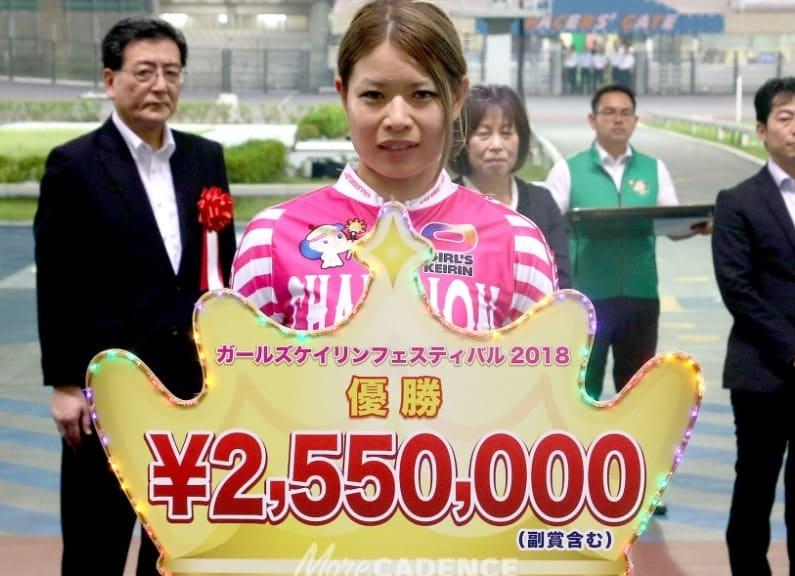 石井 寛子 競輪 獲得タイトル