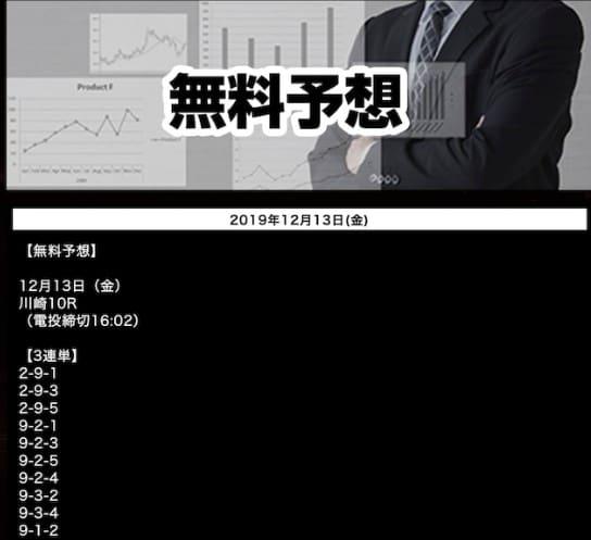 KEIRIN絆(競輪キズナ) 無料予想の買い目