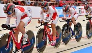 UCIネイションズカップは、ルールが変更になった新しいケイリン大会