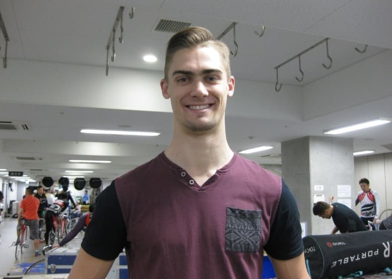 競輪 外国人 マシュー・グレーツァー選手