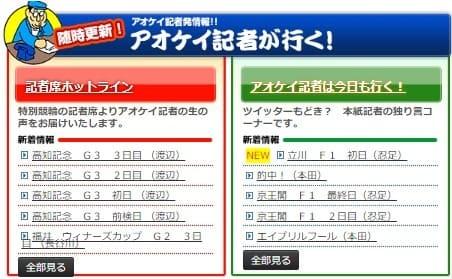競輪ニュース 青競 アオケイ記者が行く!
