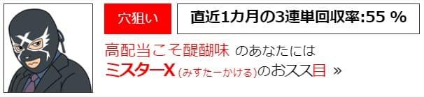 ミスターX(みすたーかける)