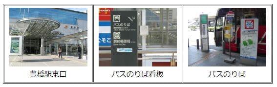 電車&無料バスでのアクセス/豊橋競輪場