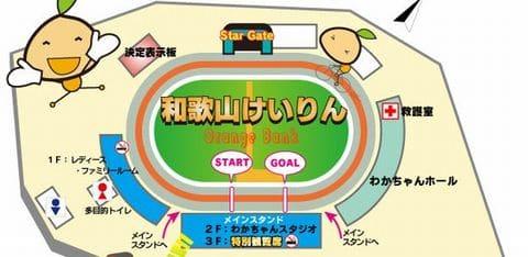 岸和田キング争覇戦in和歌山2021(岸和田競輪G3)が行われる和歌山競輪場の特徴