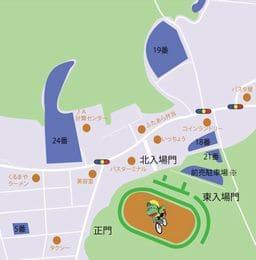 宇都宮競輪場への自動車でのアクセス