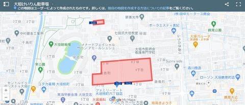 大垣競輪場への自動車によるアクセス