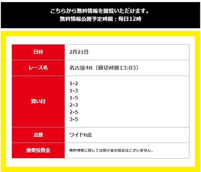 立川4レース