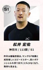 桜花賞・海老澤清杯2021(川崎競輪G3)の113期の松井宏佑が楽しみな存在